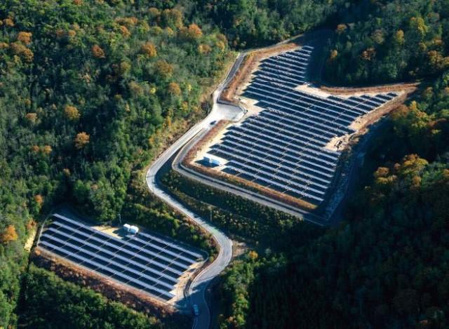 山林太陽光発電