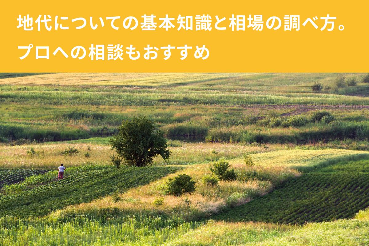 地代の相場の調べ方と基礎知識。土地の賃料を決める計算とは